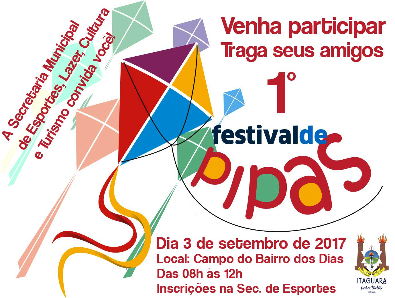 1º Festival de Pipas